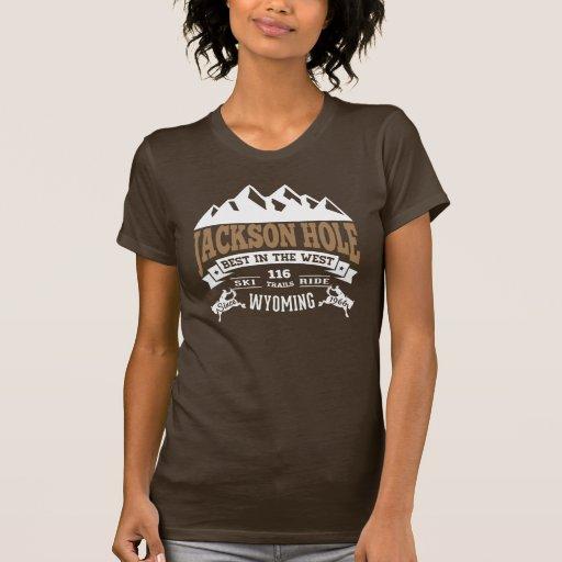 Jackson Hole Vintage Mocha Tshirts