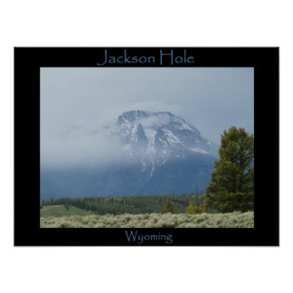 Jackson Hole, Wy Poster