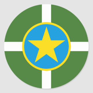 Jackson, Mississippi, United States Round Sticker