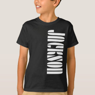 Jackson Name T-shirt