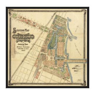 Jackson Park & Midway Plaisance, Chicago, Illinois Canvas Print