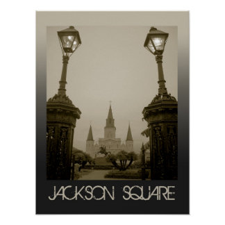 Jackson Square, New Orleans, Louisiana Poster