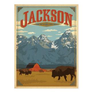 Jackson, WY Postcard