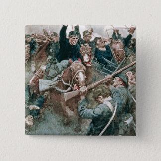 Jackson's Brigade Standing Like a Stone Wall 15 Cm Square Badge