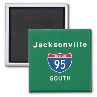 Jacksonville 95 magnet
