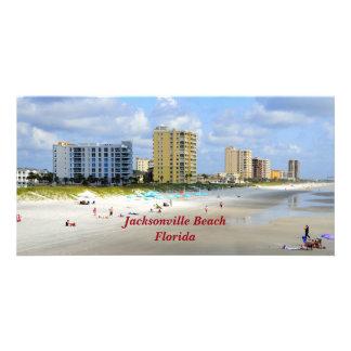 Jacksonville Beach, Florida Photo Card Template