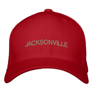 Jacksonville Cap Embroidered Cap