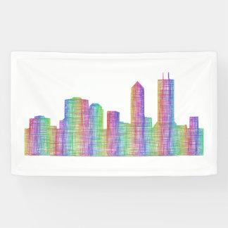 Jacksonville city skyline banner