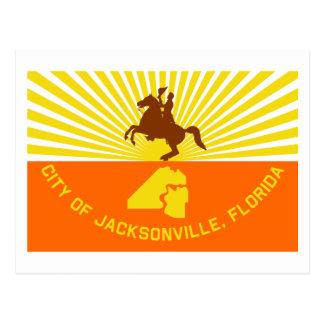Jacksonville Flag Postcard