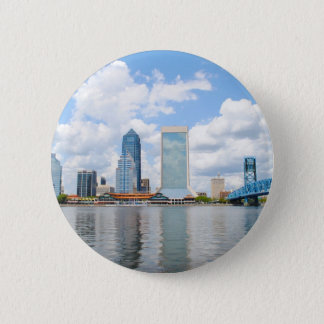 Jacksonville, Florida 6 Cm Round Badge