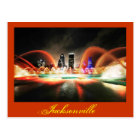 Jacksonville, Florida and the Friendship Fountain Postcard