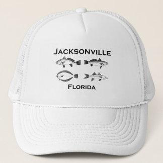 Jacksonville Florida Saltwater Fishing Trucker Hat