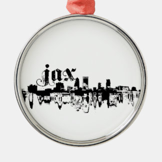 Jacksonville JAX put on for your city Metal Ornament