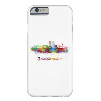 Jacksonville V2 skyline in watercolor Barely There iPhone 6 Case