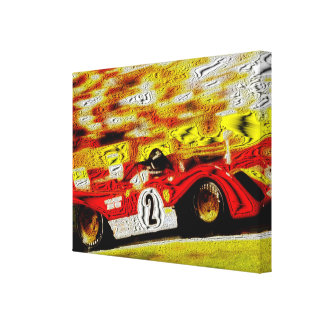 JACKY featuring MARIO - digital Work Canvas Print