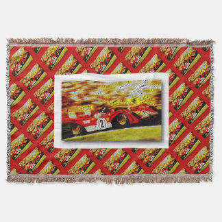 JACKY's 312 PB Composite illustration Throw Blanket