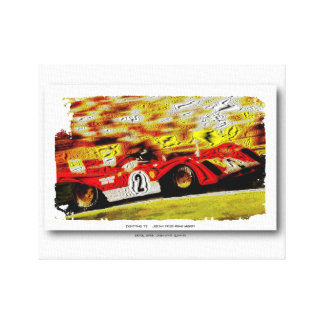 JACKY's 312PB - DIGITALLY WORK Jean Louis Glineur Canvas Print