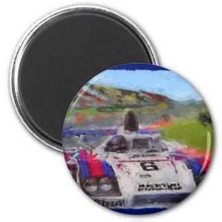JACKY's 936 - Digitally Artwork Jean Louis Glineur 6 Cm Round Magnet