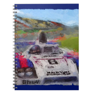JACKY's 936 - Digitally Artwork Jean Louis Glineur Spiral Notebook