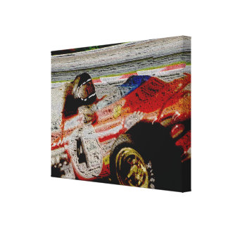 JACKY's MONOPOSTO 1972 - Artwork Jean Louis Canvas Print