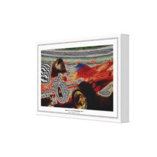 JACKY's MONOPOSTO 1972 Artwork Jean Louis Glineur Canvas Print