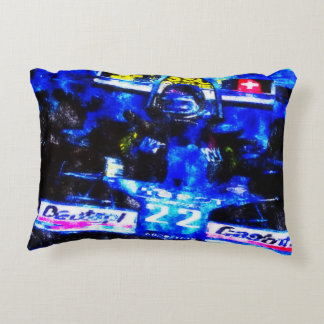 JACKY's MONOPOSTO - digitally Artwork by JLG Decorative Cushion