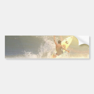 Jaco Surfer Bumper Sticker