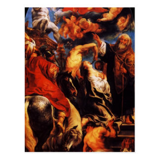 Jacob Jordaens- The Martyrdom of St. Apollonia Postcard