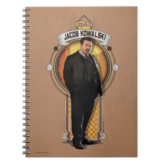 Jacob Kowalski Art Deco Panel Notebooks