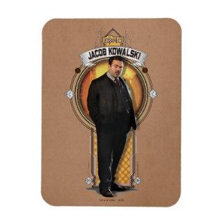 Jacob Kowalski Art Deco Panel Rectangular Photo Magnet