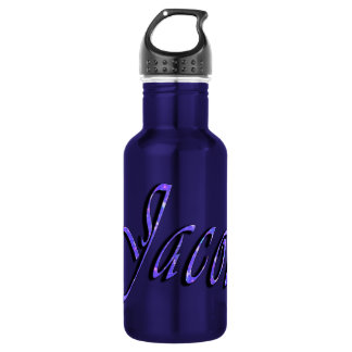 Jacob, Name, Logo, Boys Reusable Water Bottle. 532 Ml Water Bottle