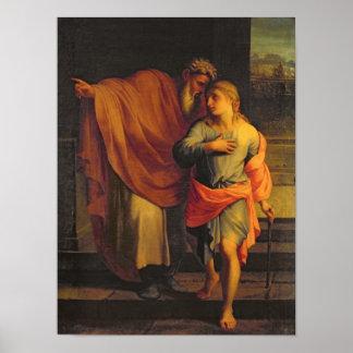 Jacob Sending his Son, Joseph Poster