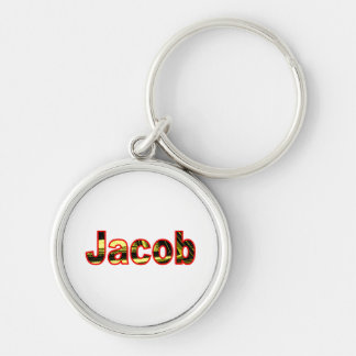 Jacob Silver Colored keychain