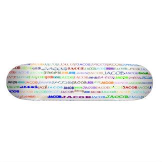 Jacob Text Design II Skateboard