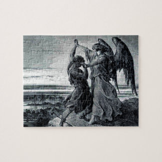 Jacob Wrestles with the Angel (Gen. 32:24-32) Puzzle