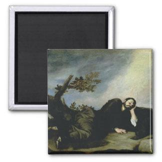 Jacob's Dream, 1639 Square Magnet