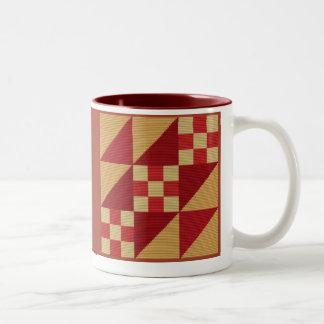 JACOBS LADDER Two-Tone COFFEE MUG