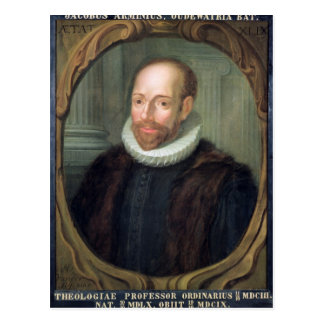 Jacobus Arminius, Professor of Theology Postcard