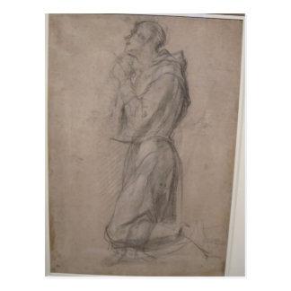 Jacopo Pontormo- Saint Francis Postcard