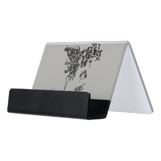 Jacque in May Desk Business Card Holder
