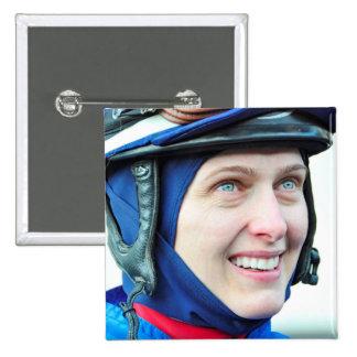 Jacqueline Davis 15 Cm Square Badge