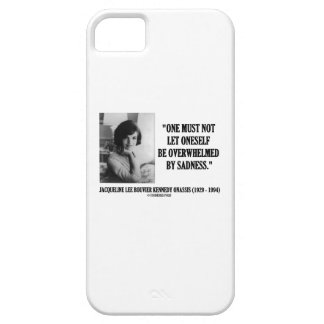 Jacqueline Kennedy Not Be Overwhelmed By Sadness iPhone 5 Cases