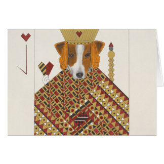 Jacqueline, the Smooth Fox Terrier Card
