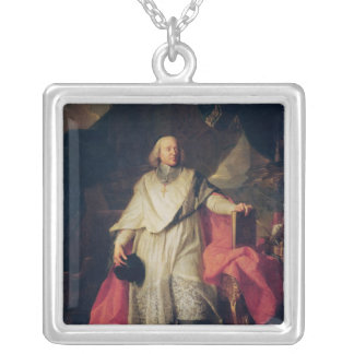 Jacques-Benigne Bossuet  1702 Silver Plated Necklace