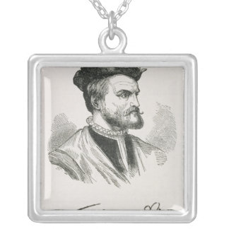 Jacques Cartier Silver Plated Necklace