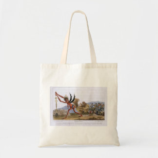 Jacques David Caricature of the English Government Canvas Bags