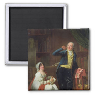 Jacques Delille  and his Wife, 1802 Magnet