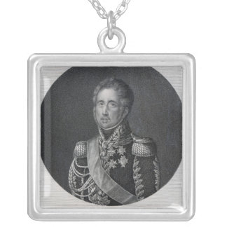 Jacques Law, Marquis de Lauriston Silver Plated Necklace