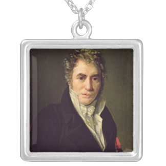 Jacques Louis David  1817 Silver Plated Necklace