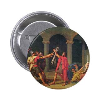Jacques-Louis David Art Pinback Buttons